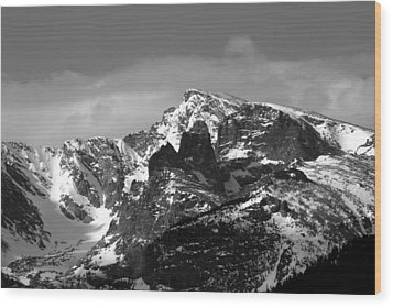 Wood Print featuring the photograph Taylor Peak by Perspective Imagery