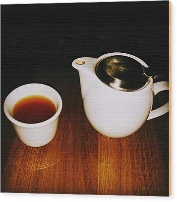 Tea-juana Wood Print