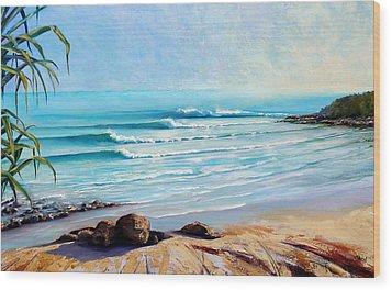 Tea Tree Bay Noosa Heads Australia Wood Print