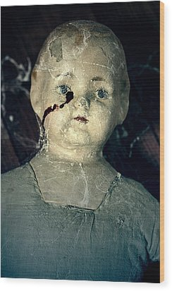 Tears Of Blood Wood Print by Joana Kruse