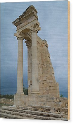 Temple Of Apollo Wood Print by Harold Piskiel