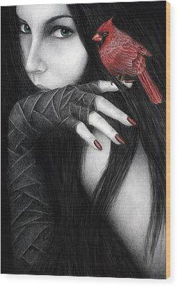 Temptation Wood Print
