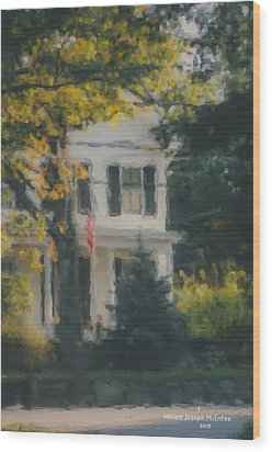 Ten Lincoln Street, Easton, Ma Wood Print