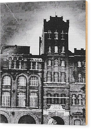Wood Print featuring the photograph Tennessee Brewery by Lizi Beard-Ward