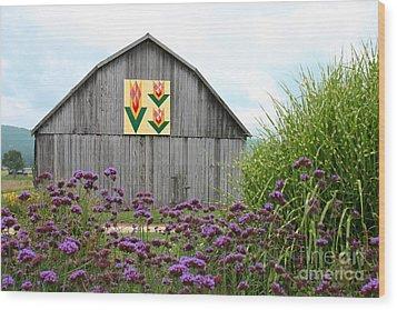 Tennessee Tulip Wood Print