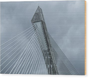 Terenez Bridge II Wood Print