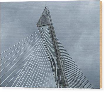 Terenez Bridge II Wood Print