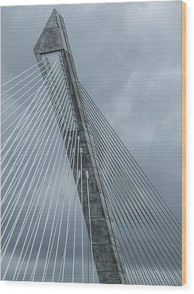 Terenez Bridge IIi Wood Print
