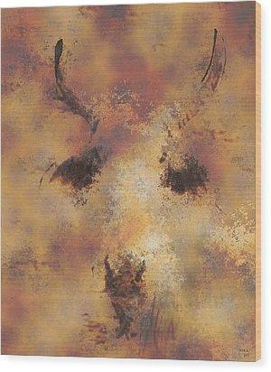 Terra Wood Print by Rora