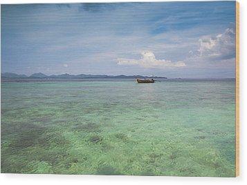 Thai Nok, Thailand Wood Print by Photo by Jim Boud