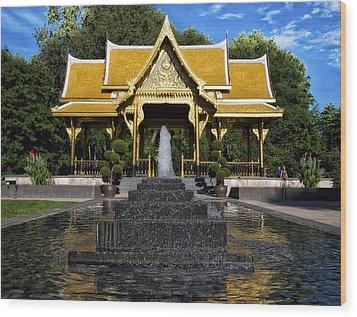 Thai Pavilion - Madison - Wisconsin Wood Print