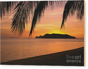 Thailand, Koh Pagan Wood Print by William Waterfall - Printscapes