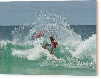 That Kelly Slater Wave Magic Wood Print