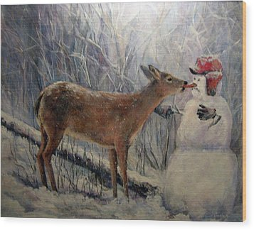 That'll Be Mine Wood Print by Donna Tucker