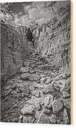 The 23rd Psalm Wood Print by Charles Dobbs