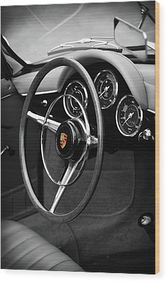 The 356 Roadster Wood Print by Mark Rogan