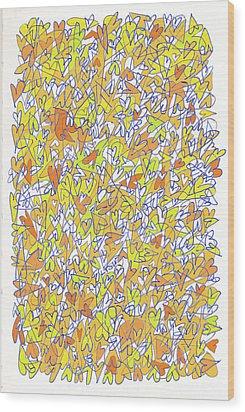 The Abundant Heart Wood Print by Linda Kay Thomas