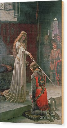 The Accolade Wood Print