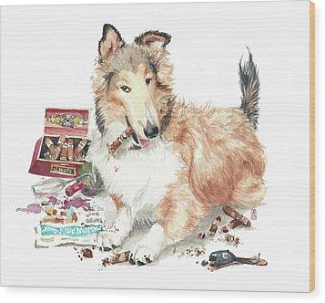 The Aficiondo Wood Print by Debra Jones