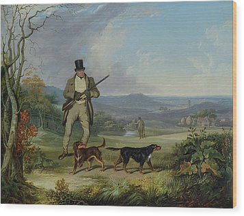 The Afternoon Shoot   Wood Print by Philip Reinagle