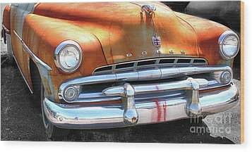 The Age Of Dodge  Wood Print by Steven Digman