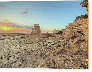 Wood Print featuring the photograph The American West by JC Findley