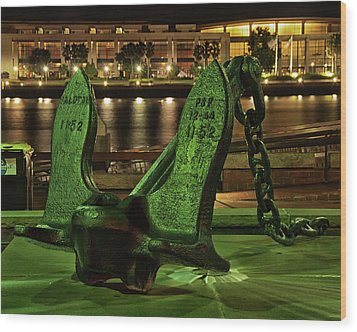 The Anchor Monument Wood Print