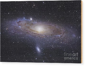 The Andromeda Galaxy Wood Print by Robert Gendler