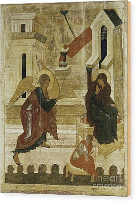 The Annunciation Wood Print by Granger