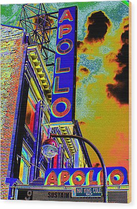 The Apollo Wood Print by Steven Huszar