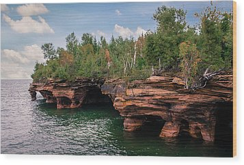The Apostle Islands Wood Print