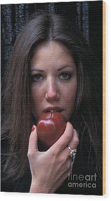 The Apple Wood Print by Marc Bittan