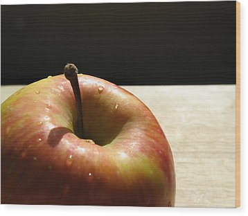 The Apple Stem Wood Print by Kim Pascu