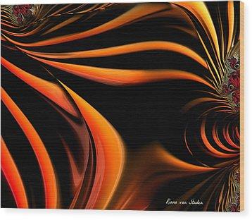 The Awakening  Wood Print