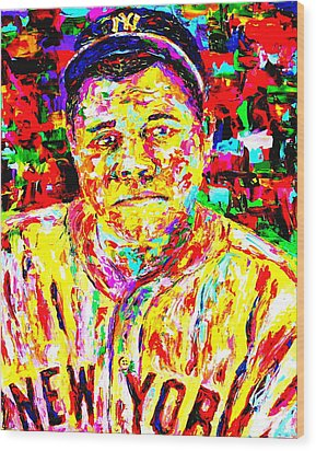 The Babe Wood Print by Mike OBrien