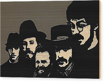The Band Wood Print by Jeff DOttavio