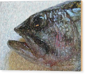 The Bass Wood Print by Carol Grimes