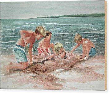 The Beach Boys Wood Print