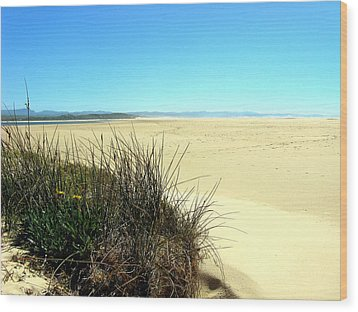 Wood Print featuring the photograph The Beach by Riana Van Staden