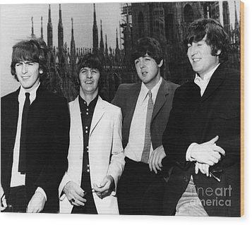 The Beatles, 1960s Wood Print by Granger