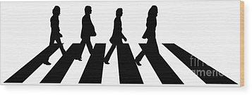 The Beatles No.02 Wood Print by Caio Caldas