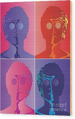 The Beatles No.10 Wood Print by Caio Caldas