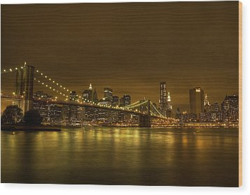 The Beauty Of Manhattan Wood Print by Andreas Freund