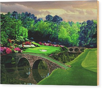 The Beauty Of The Masters Wood Print by Ron Chambers