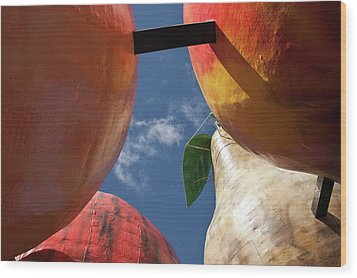 The Big Fruit Wood Print