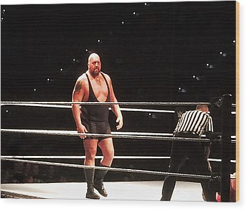 The Big Show Wood Print