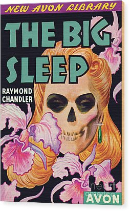 The Big Sleep Wood Print by Paul Stahr