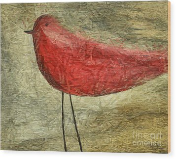 The Bird - Ft06 Wood Print by Variance Collections