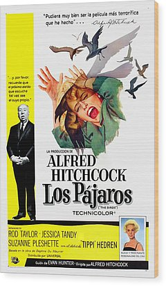 The Birds, Aka Los Pajaros, Alfred Wood Print by Everett