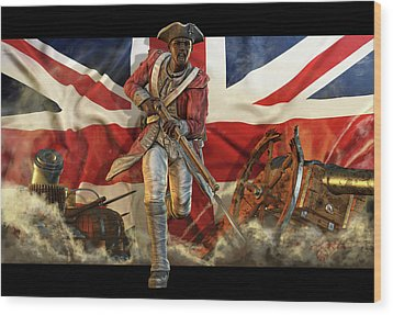 The Black Loyalist Wood Print by Kurt Miller